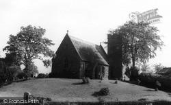 Scotby, All Saints Church c.1955