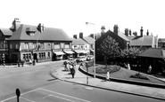Scunthorpe, Britannia Corner c1955