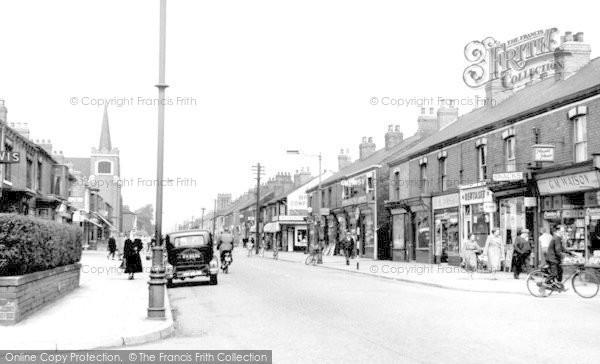 Scunthorpe, Frodingham Road c1965