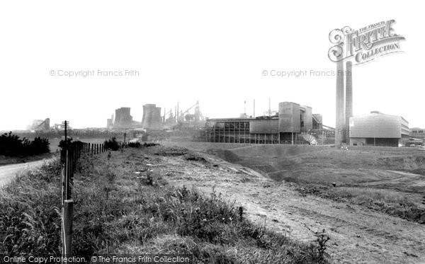 Scunthorpe, Lysaghts Steel Works c1960