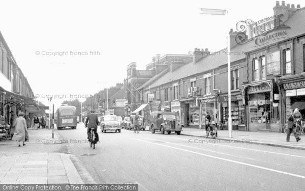 Scunthorpe, Oswald Road c1960