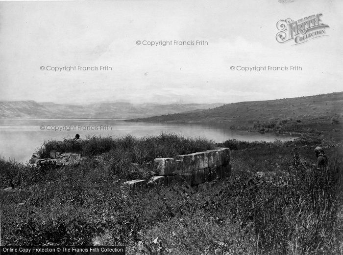 Photo of Sea Of Galilee, Site Of Capernaum c.1867