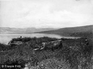 Sea of Galilee, Site of Capernaum c1867
