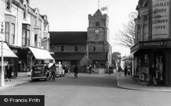 Seaford, Church Street c.1950