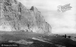 Seaford, Cliffs 1890