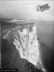 Seaford, Cliffs And Seven Sisters 1921