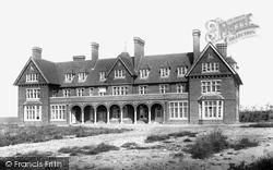 Seaford, Convalescent Home 1890