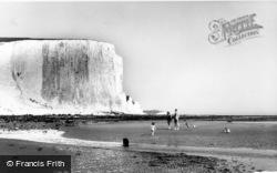 Seaford, Cuckmere Bay c.1965