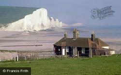 Seaford, Cuckmere Haven And The Seven Sisters c.1980