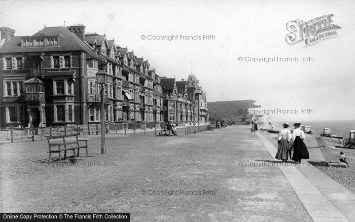 Photo of Seaford, Esplanade 1897