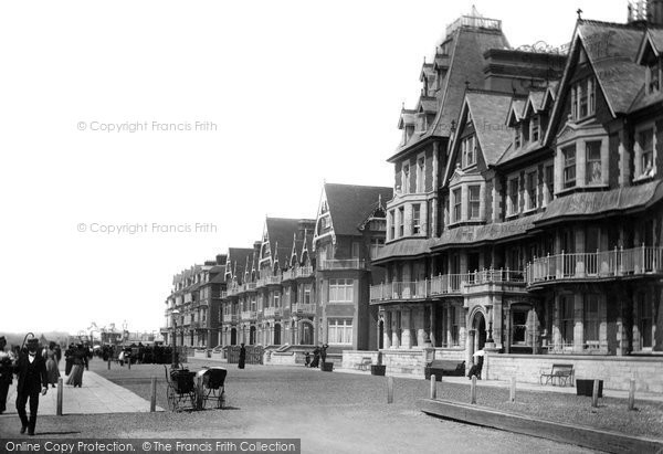 Seaford, Esplanade 1900