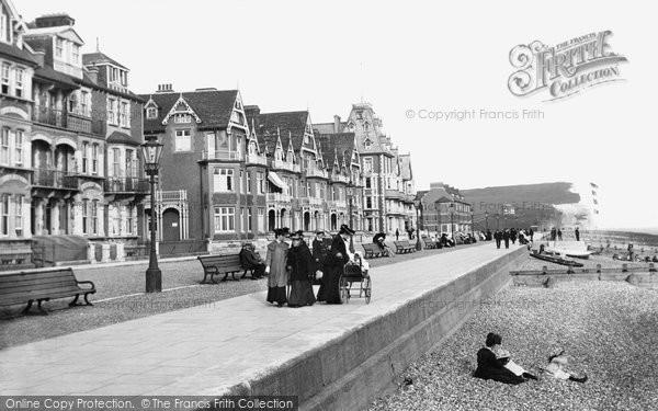 Seaford, Esplanade 1906