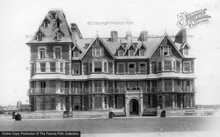 Photo of Seaford, Esplanade Hotel 1897