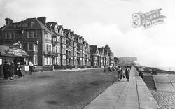 Seaford, Esplanade Looking East 1921
