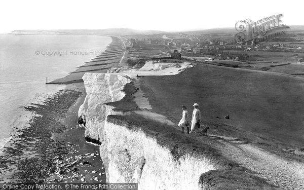 Seaford, from East Cliff 1921