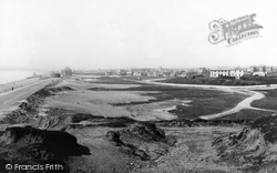 Seaford, From The Downs 1890