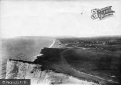 Seaford, General View From Golf Links 1891