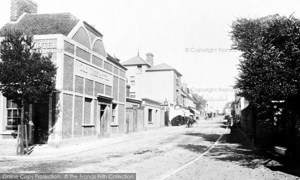 Photo of Seaford, High Street 1890