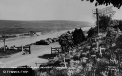 Seaford, Looking South From The Galleon, Exceat Bridge c.1965