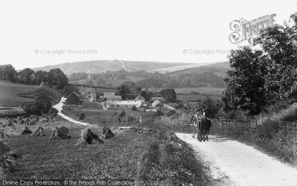 Photo of Seaford, Lullington Hill 1894