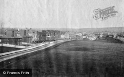 Railway Approach And Claremont Road 1892, Seaford