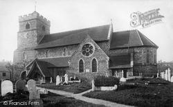 Seaford, St Leonard's Church 1890