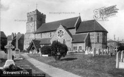 St Leonard's Church 1921, Seaford