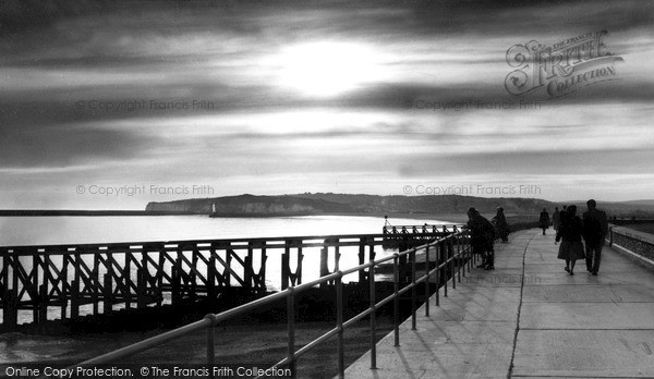 Seaford, Sunset c1960