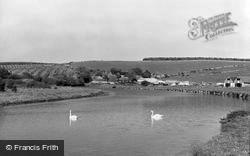 Seaford, The Cuckmere, Exceat Bridge c.1965