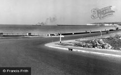 Seaford, The Embankment c.1950