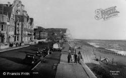 Seaford, The Promenade c.1950