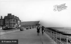 Seaford, The Promenade c.1965