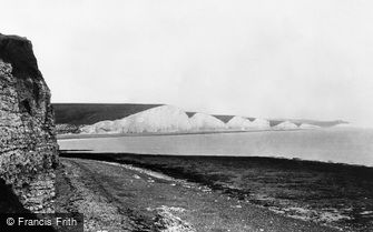 Seaford, the Seven Sisters 1891