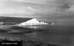 Seaford, The Seven Sisters c.1965