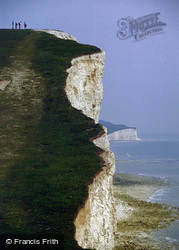 The Seven Sisters c.1980, Seaford