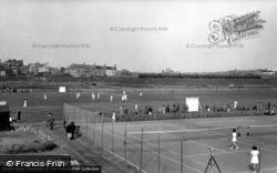 The Tennis Court c.1955, Seaford