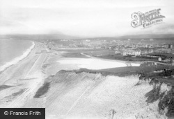Seaford, View From Seaford Head 1894