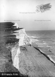 View From Seaford Head c.1960, Seaford