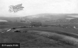 Seaford, View Towards Alfriston 1891