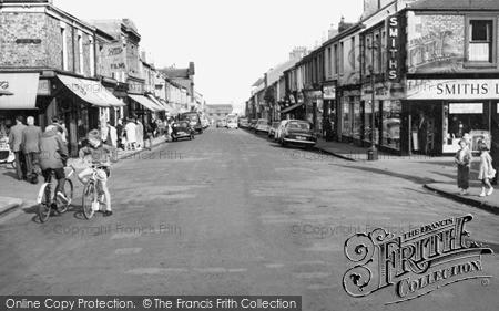 Photo of Seaham, Church Street 1962