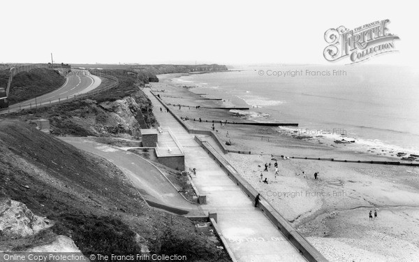 Photo of Seaham, North Beach c1955, ref. s287055