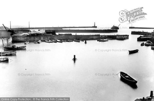 Photo of Seaham, The Harbour c.1955