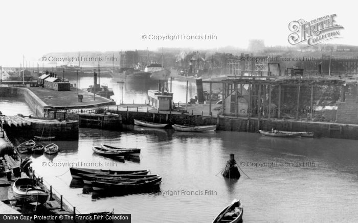 Photo of Seaham, the Harbour c1955, ref. s287007a