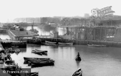 The Harbour c.1960, Seaham