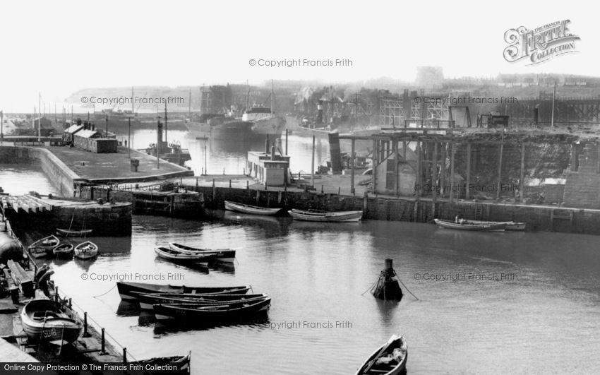 Seaham, the Harbour c1960