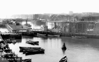 Seaham, the Harbour c1960