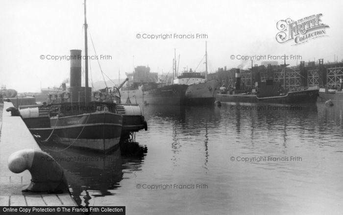 Photo of Seaham, the Harbour c1955, ref. s287008