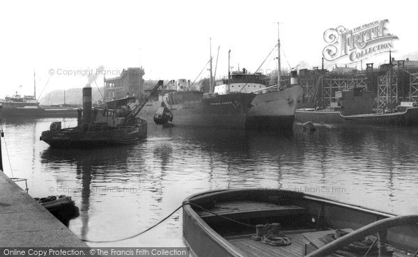 Photo of Seaham, The Harbour c.1960