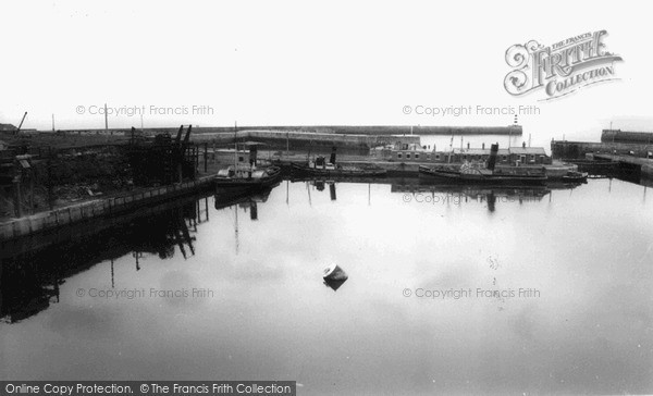 Photo of Seaham, the Harbour c1955, ref. s287050