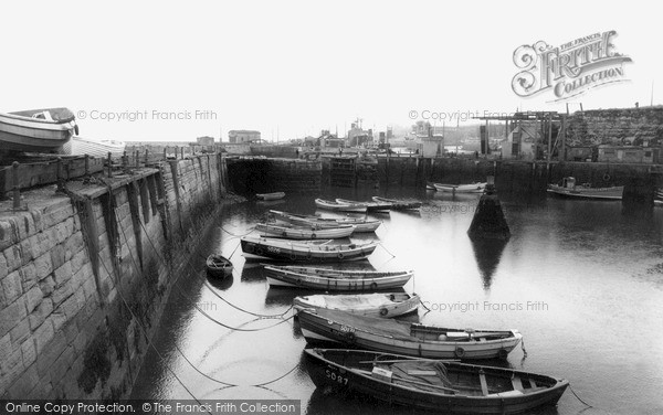 Photo of Seaham, The Harbour c.1965